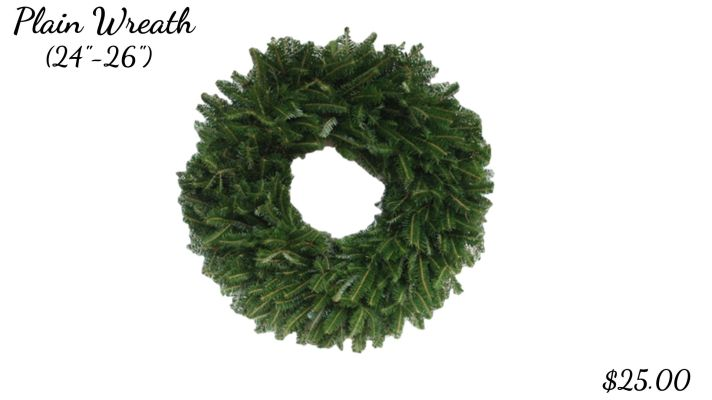 Plain Wreath (24_-26_)